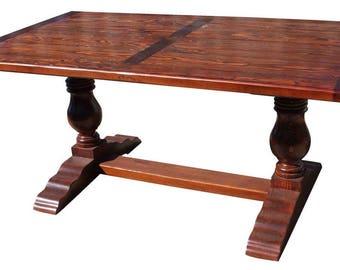 Anjelica Farmhouse Trestle Table