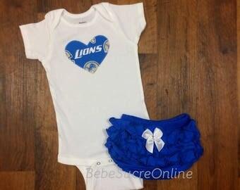 Detroit Lions Girls Outfit
