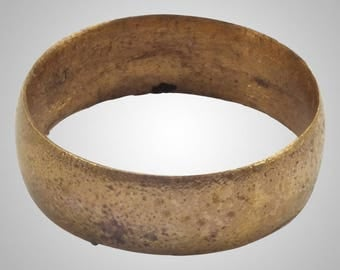 Authentic Ancient Viking  wedding Ring, medieval ring, wedding band, wedding ring  C.866-1067A.D. Size 9  (19.6mm)(Brr1021)