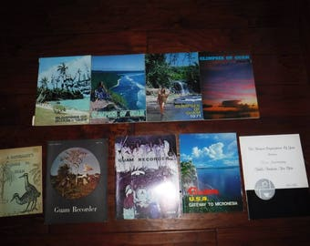 Glimpses of Guam 1969 1970 1971 1972 1973  and more 9 books in all