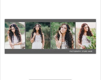INSTANT DOWNLOAD - Facebook Timeline Cover, Photoshop Template, Gallery - FT210