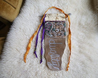 RESERVED FOR HOPE - Custom Word of the Year Gypsy Altar Prayer Flag