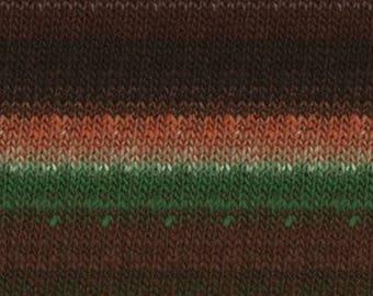 Noro Kureopatora Yarn 100% wool self striping yarn