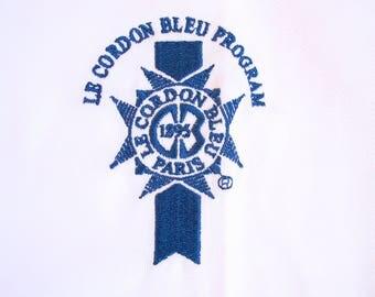 Cordon Bleu chef jacket adult large