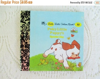20% Summer SALE Poky Little Puppy's Special Day, Original Little Little Golden Book, 1990s Miniature Classics 24 Pages-New Old Stock Unused