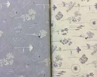 Save our Bees by studio e in Taupe and Buttermilk Pattern 3957 100% cotton fabric by the half metre