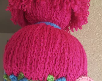 Adorable Troll Hat Bland of Wool and Acrylic Super Warm Soft