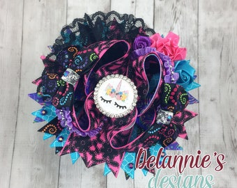 Unicorn Boutique Bow ~Stacked Boutique Bow~