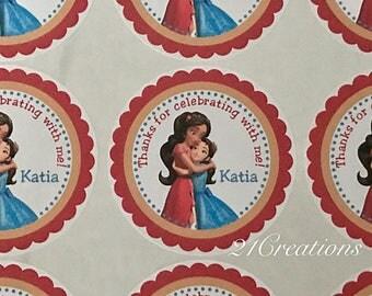 Elena of Avalor Stickers