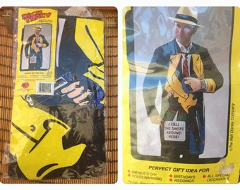 Vintage Dick Tracy Cooking Apron And Glove