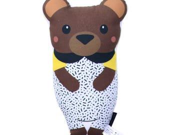 Bear Softie - Pillow, Nursery, Plush, Teddy Bear