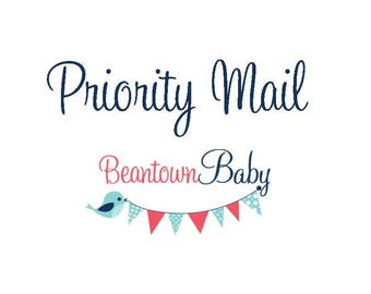2-3 Day USPS Priority Shipping UPGRADE for Your Beantown Baby Order