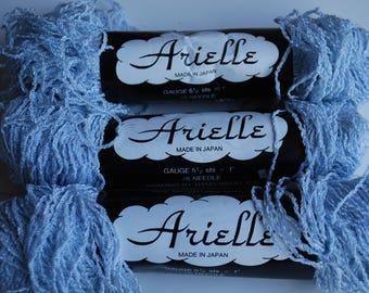3 skeins  Arielle rayon/acrylic vintage yarn