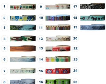 Washi Tape - NOVELTY Designs Collection