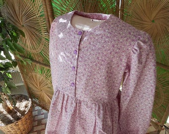"Girls Pioneer Dress ""Meg"" Size 8 Ready to Ship"