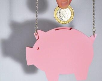 Piggy Bank Necklace