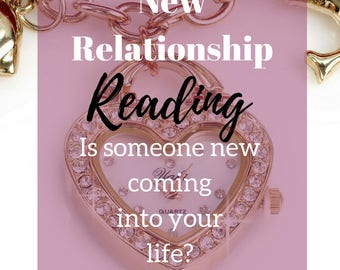 New Relationship Psychic Reading Same Day Email or MP3 Reading - Detailed Reading - Accurate Reading + Free Meditation PDF
