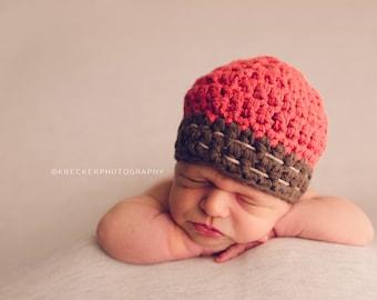 Baby boy hat, newborn boy hat, baby hat, boys hat,  crochet boys hat, little boys hat, baby boy hat, boys winter hat, crochet hat, boy hat
