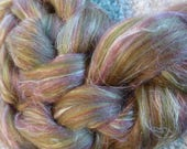 Hope Jacare custom blends - Heather Hills - felt making spinning - 25g - 200g
