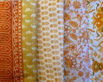 Fat Quarters, Silk Fabric, Sari Silk, FQ 174