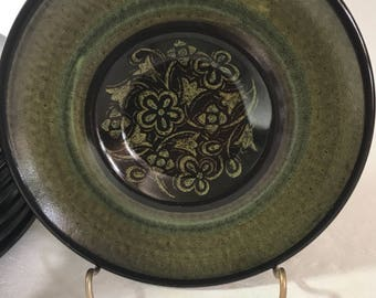 Mid Century Franciscan Madeira Saucer Plates
