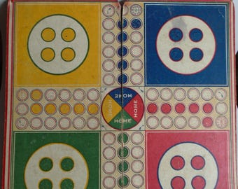 Vintage Ludo Game Board