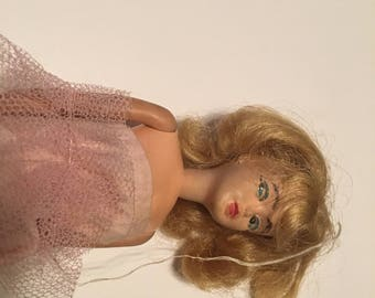 1960s teen doll with original clothes