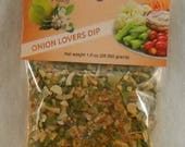 Onion Lovers Party Dip and Seasoning Party Wedding Favors Free Shipping