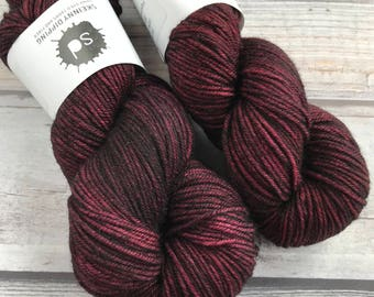 Journey Worsted in Elzie by Skeinny Dipping Yarn