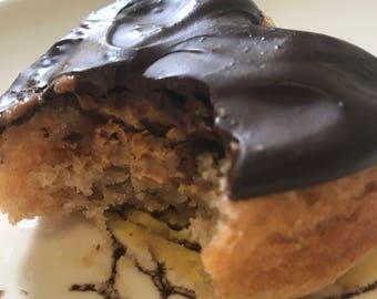 Vegan Gluten free Vanilla Peanut Butter Dark Chocolate 6 Pieces !