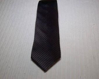Vintage Lanvin Slim Grey Tie
