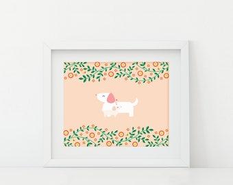 Darby + Dot™ - Mom + Me  - Art Print