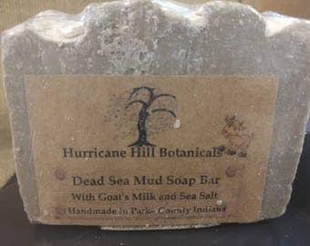 Dead Sea Mud Soap Bar with Almond Milk
