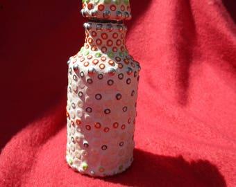 Natural color tincture bottle
