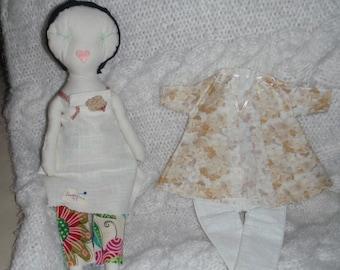 Rag Doll Jess Brown Likeness Handmade OOAK Beatrice