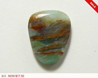 Peruvian Opal Cabochon,designer cabochon, gemstone cabochons, flat back cabochons, natural stone cabochons, loose cabochons (po6465)