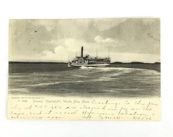 Rotagraph Nantucket Postcard 1906 Vintage Massachusetts Americana A6808 Rare Beauty