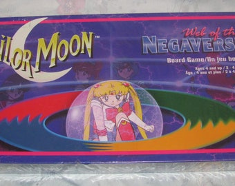 1996 Canada Games Sailor Moon Web of the Megaverse Board Game New in Box