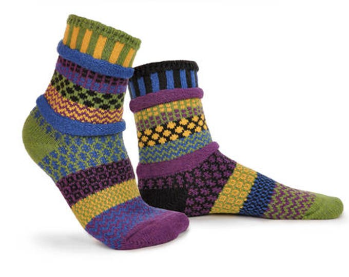 Solmate Socks - October Morning Crew