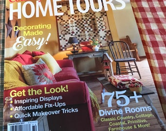 Country Sampler Home Tours Special Issue 2017 New