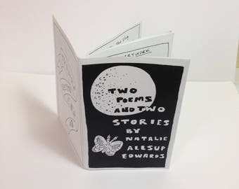 Moth Zine: two stories and two poems