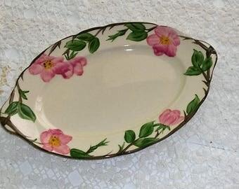 Franciscan Desert Rose Oval Serving Platter