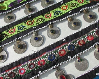 Kuchi Tribal Choker/Head band many colors to choose from