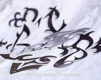 Revy Temporary Tattoo, Black Lagoon, Two Hands, Rebecca Lee, Lagoon Company, Cosplay, Anime, Dutch, Halloween, Ready to Wear, Precut Tattoo