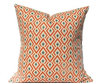 15% Off Sale ORANGE PILLOW Decorative pillow Cover Accent Pillow, throw Pillow - sofa Pillow Throw Pillow covers - Accent pillow - Home Deco