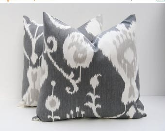 15% Off Sale Decorative Pillow Covers,Gray pillow, Grey Pillow cover  Accent Pillow Toss Pillow 16x16 Pillow cover Cushion , Pillows,, Throw