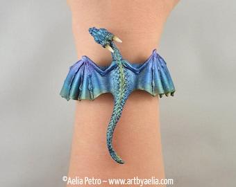 Aurora Borealis Dragon Bracelet - IN STOCK and Ready to Ship
