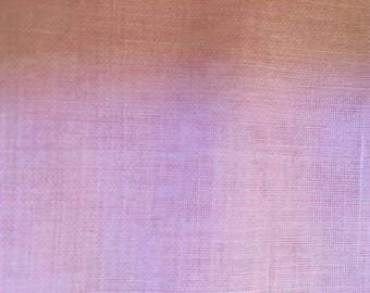 Sheer Pink cotton blend fabric.