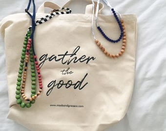 """Canvas Tote 
