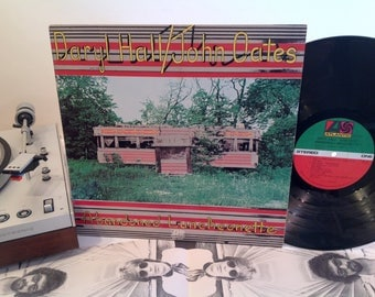 Daryl Hall and John Oates - Abandoned Luncheonette - w/ Lyric Poster - 1973 - Classic Album